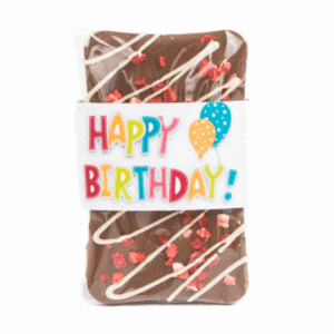Chocolate Birthday Bar