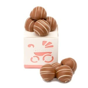 Champagne Truffle in Girl Favour Box
